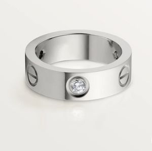 NEW Screw Ring Stainless Steel and CZ Stones